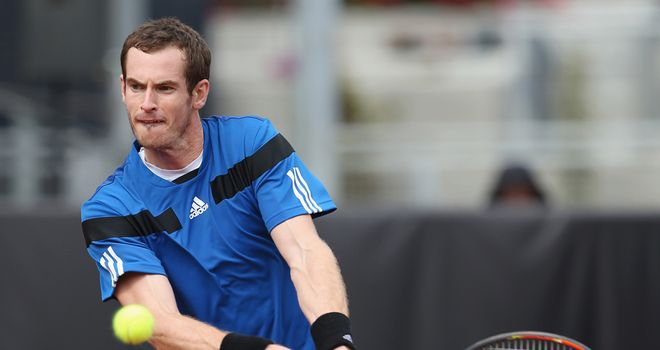 Andy Murray: Rallied back from a set down to move into the second round of the Acapulco Open