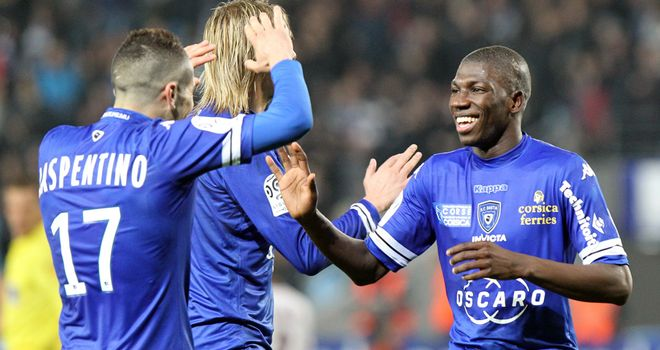 Bastia enjoy Adama Ba's winner