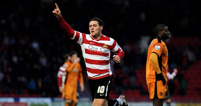 Billy Sharp: Scored Doncaster's opener against Huddersfield