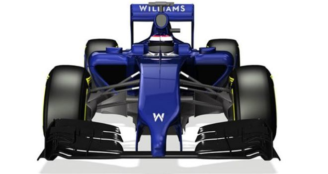 The first look at the new FW36 (Image courtesy of Williams)
