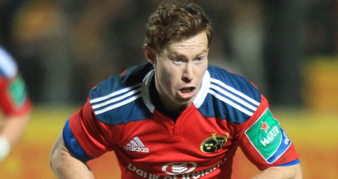 Cathal Sheridan: One of three Munster players to sign new deals