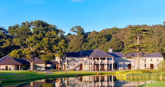 The clubhouse at Fota Island Resort