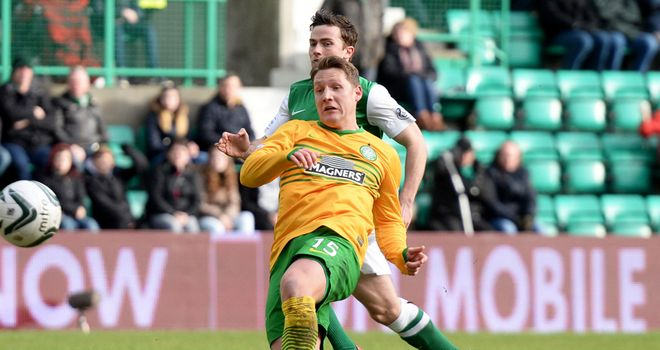 Kris Commons: Puts Celtic on the way to a 11th straight league victory