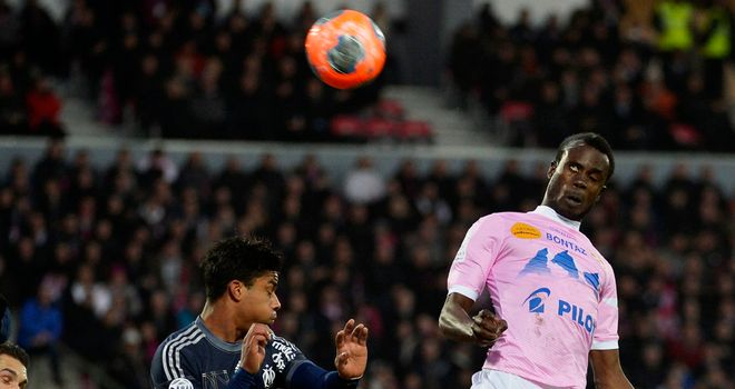 This goal from Modou Sougou wasn't enough for Evian.