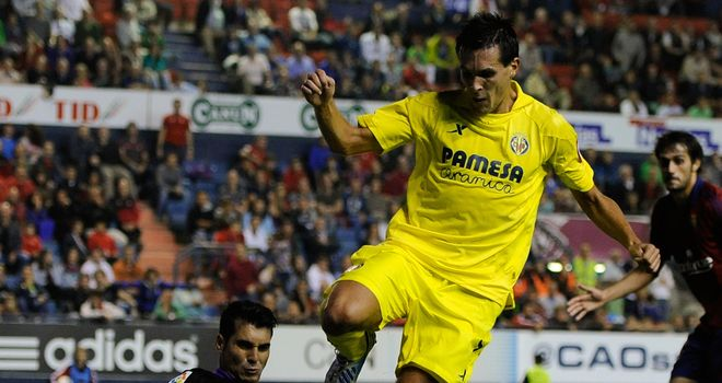 Jeremy Perbet: Netted twice for Villarreal