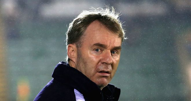 John Sheridan: Pleased with his squad