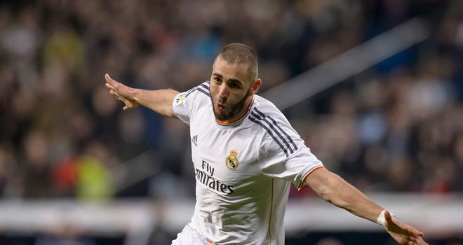 Karim Benzema got the opener for Real Madrid