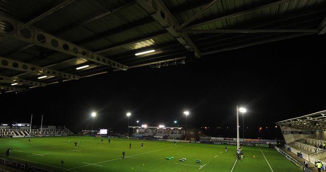 Kingston Park: Home of Newcastle Falcons