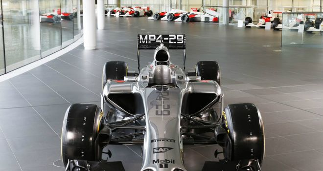 Electrical problem: McLaren's new MP4-29