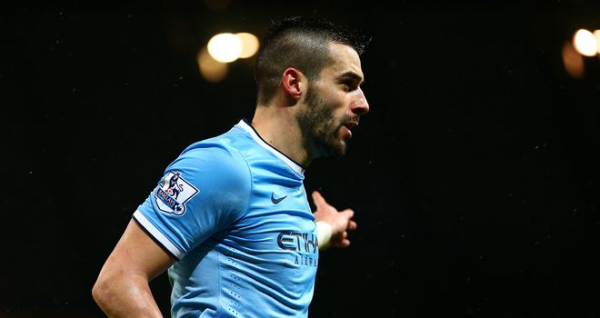 Alvaro Negredo: 15 goals in 15 games at the Etihad stadium
