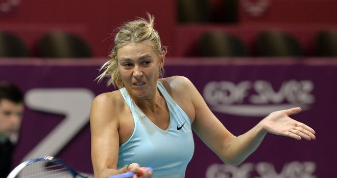 Maria Sharapova: Will face Anastasia Pavlyuchenkova in semi-finals