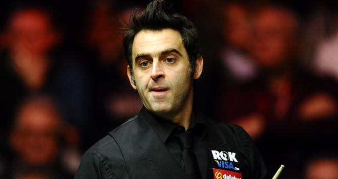 Ronnie O'Sullivan: In clinical mood during quarter-final win