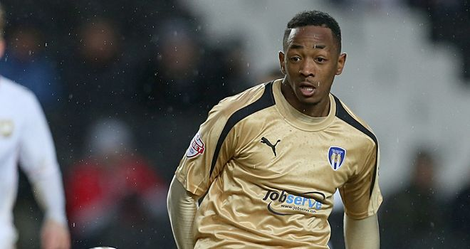 Sanchez Watt: Saw red in Colchester's draw at Swindon