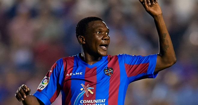Simao: Scored the winner for Levante