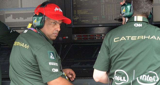 Tony Fernandes: Says that Caterham Group is not for sale