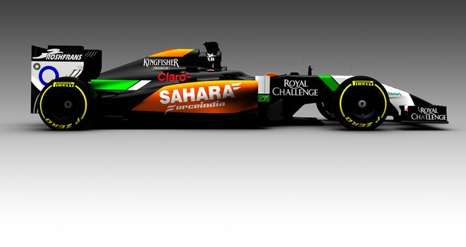 First look: Force India's VJM07