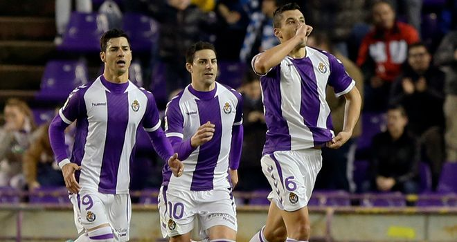 Valladolid were involved in a dour 0-0 draw