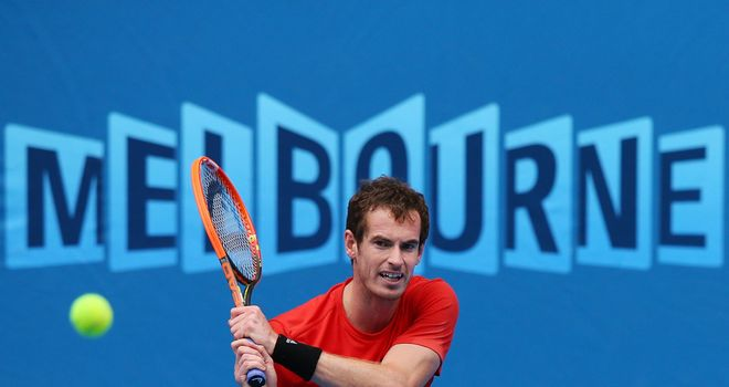 Andy Murray: Looking to bounce back from injury lay-off at Australian Open