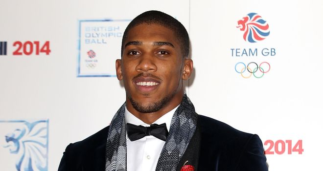 Anthony Joshua: Was sidelined at the end of 2013 by a shoulder injury