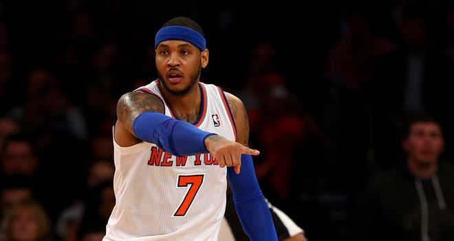 Carmelo Anthony: 62-point haul was highest seen in NBA match at Madison Square Garden