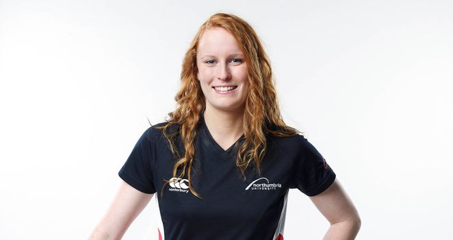 Darcie Worsdale: the Team Northumbria captain will be hoping for win tonight.