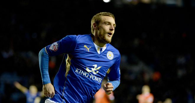 Jamie Vardy: Opened the the scoring for Leicester