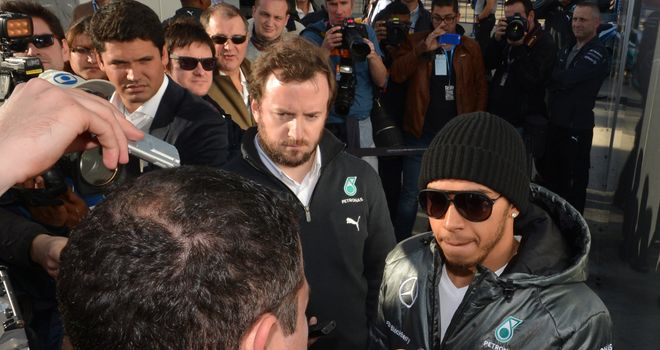 Lewis Hamilton: Not underestimating the challenge ahead