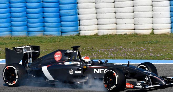 Sauber: Plenty of lock ups from their drivers at Jerez
