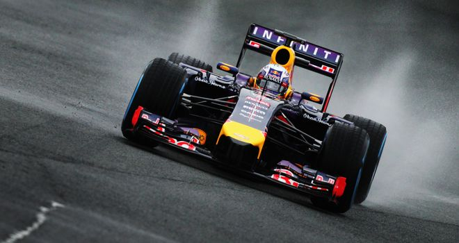 Daniel Ricciardo: Managed another seven laps on Friday morning