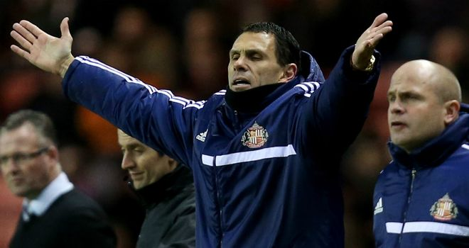 Gus Poyet: Sunderland boss already looking ahead