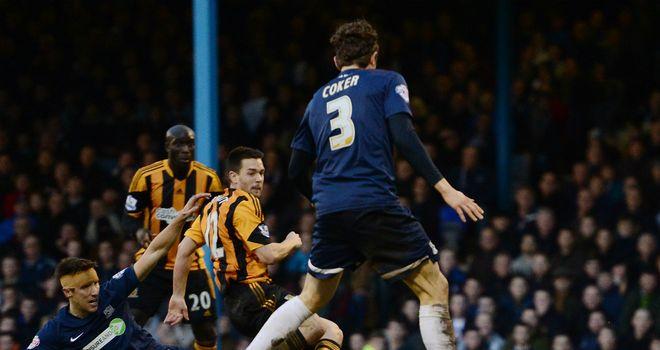 Matty Fryatt: Scored twice as Hull eased past Southend