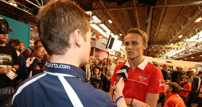 Max Chilton: Is targeting points in 2014