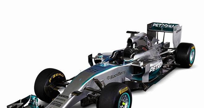 The Mercedes W05