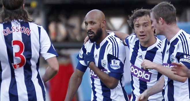Nicolas Anelka: Performs his 'quenelle' gesture