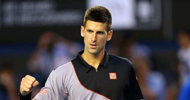 Novak Djokovic: Beat Lukas Lacko in three sets