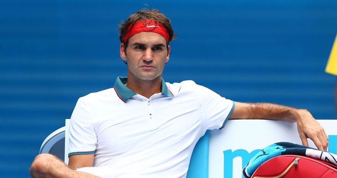 All in a day's work for Roger Federer