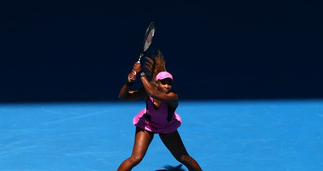 Serena Williams: Through to the fourth round of the Australian Open