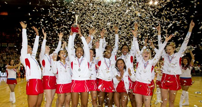 Watch England's netball team in action