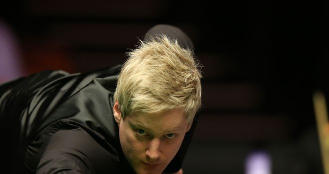 Neil Robertson: Defied a virus to progress to round two in China