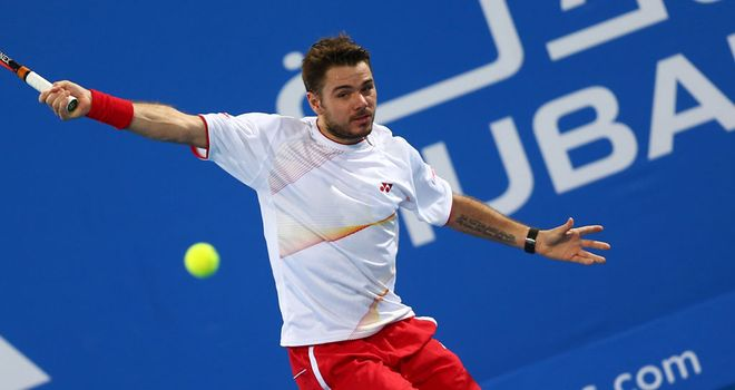 Stan Wawrinka: Booked his final place when Pospisil was forced to quit
