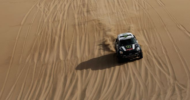 Stephane Peterhansel: Hot on the heels of Dakar Rally leader Nani Roma