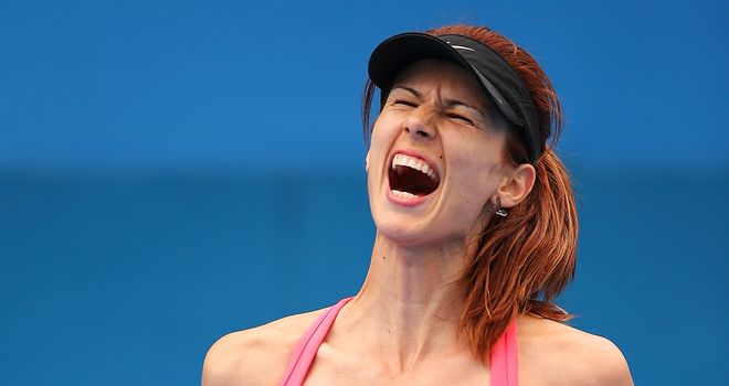 Tsvetana Pironkova: Reached the first WTA Tour final of her career