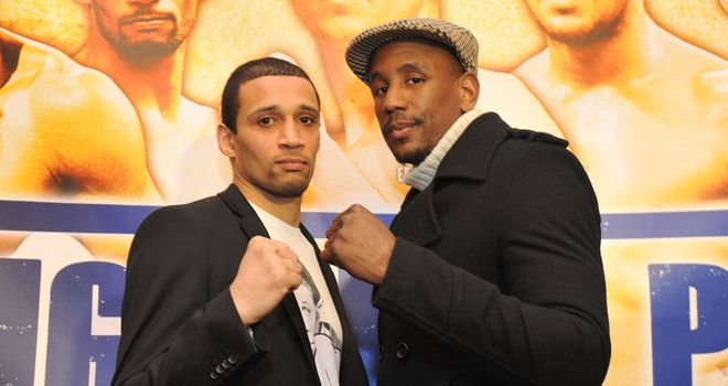 Darren Hamilton (r): One win away from keeping the Lonsdale Belt for good (Pic: Matchroom)