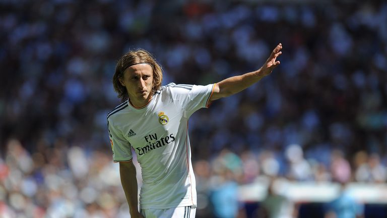 Luka Modric New Haircut After Winning 2014 Champions League