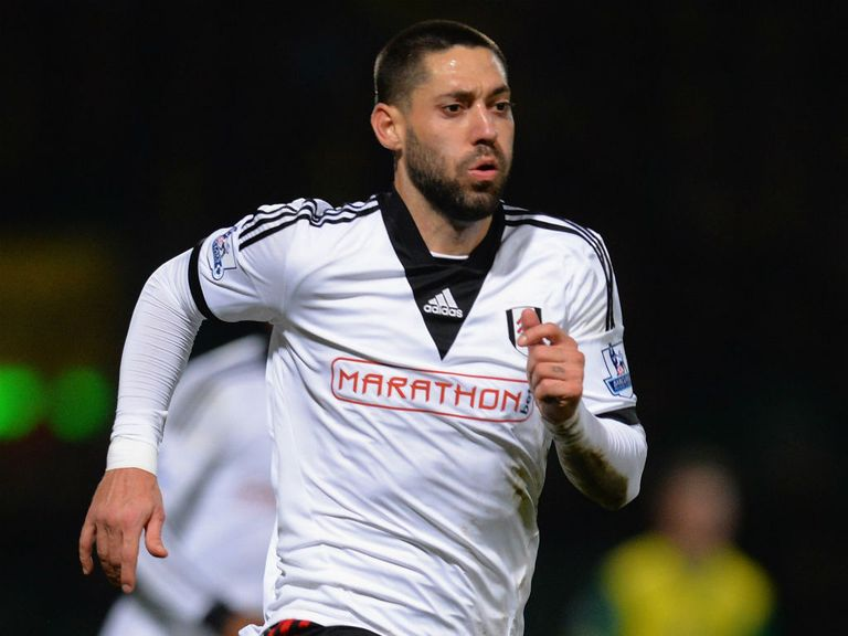 Clint Dempsey: Back at Fulham on loan