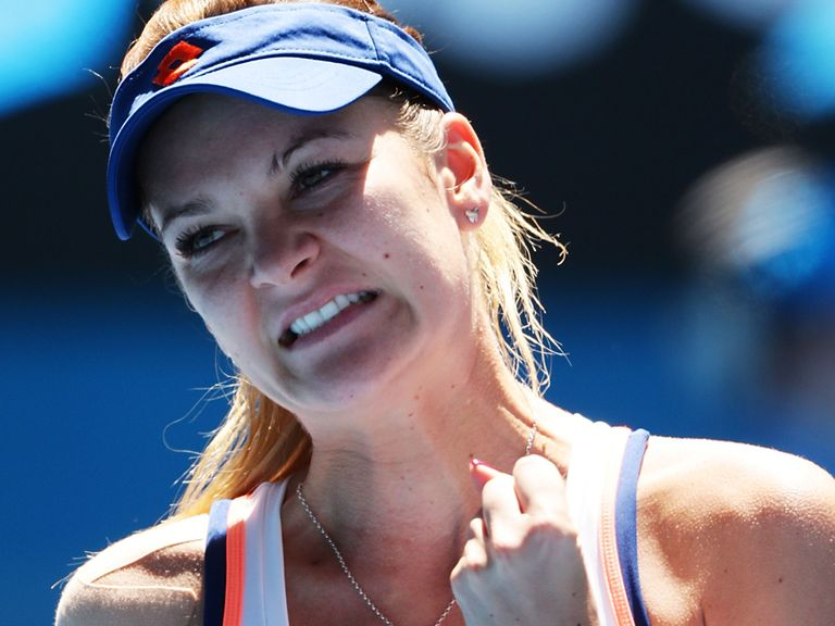 Agnieszka Radwanska: Dumped out the defending champion