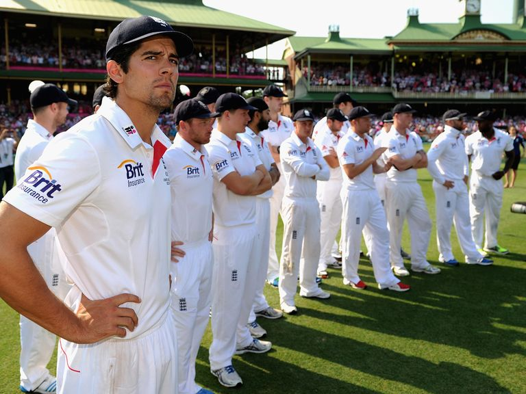 Alastair Cook's men are 7/1 to suffer another 5-0 loss in the ODI series