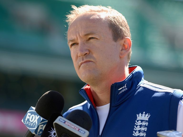 Andy Flower: New role with the ECB