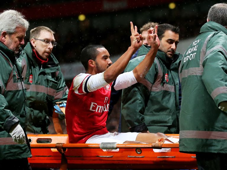 Theo Walcott: Could escape punishment