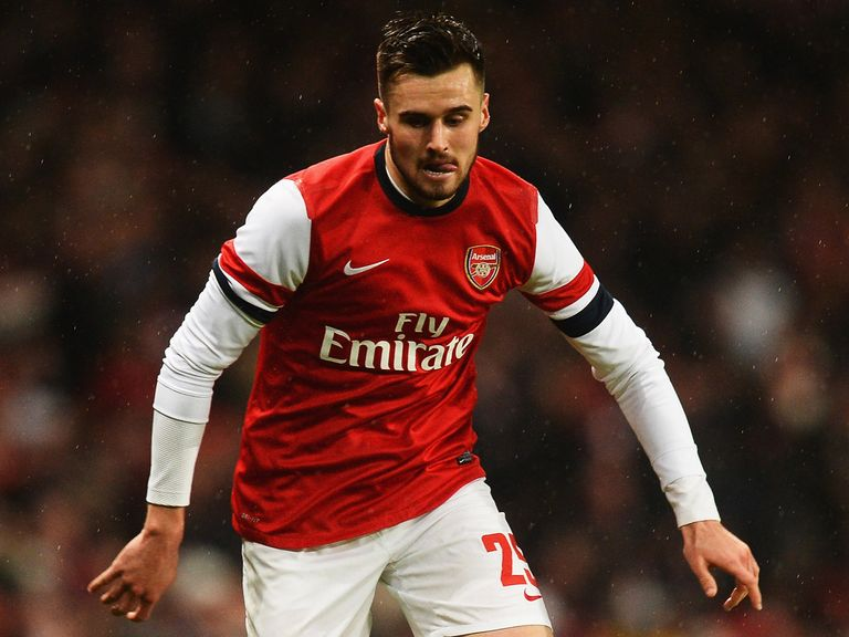 Carl Jenkinson: Could be leaving Arsenal on loan